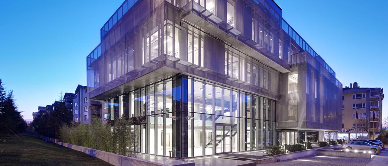 Архитектурное решение здания